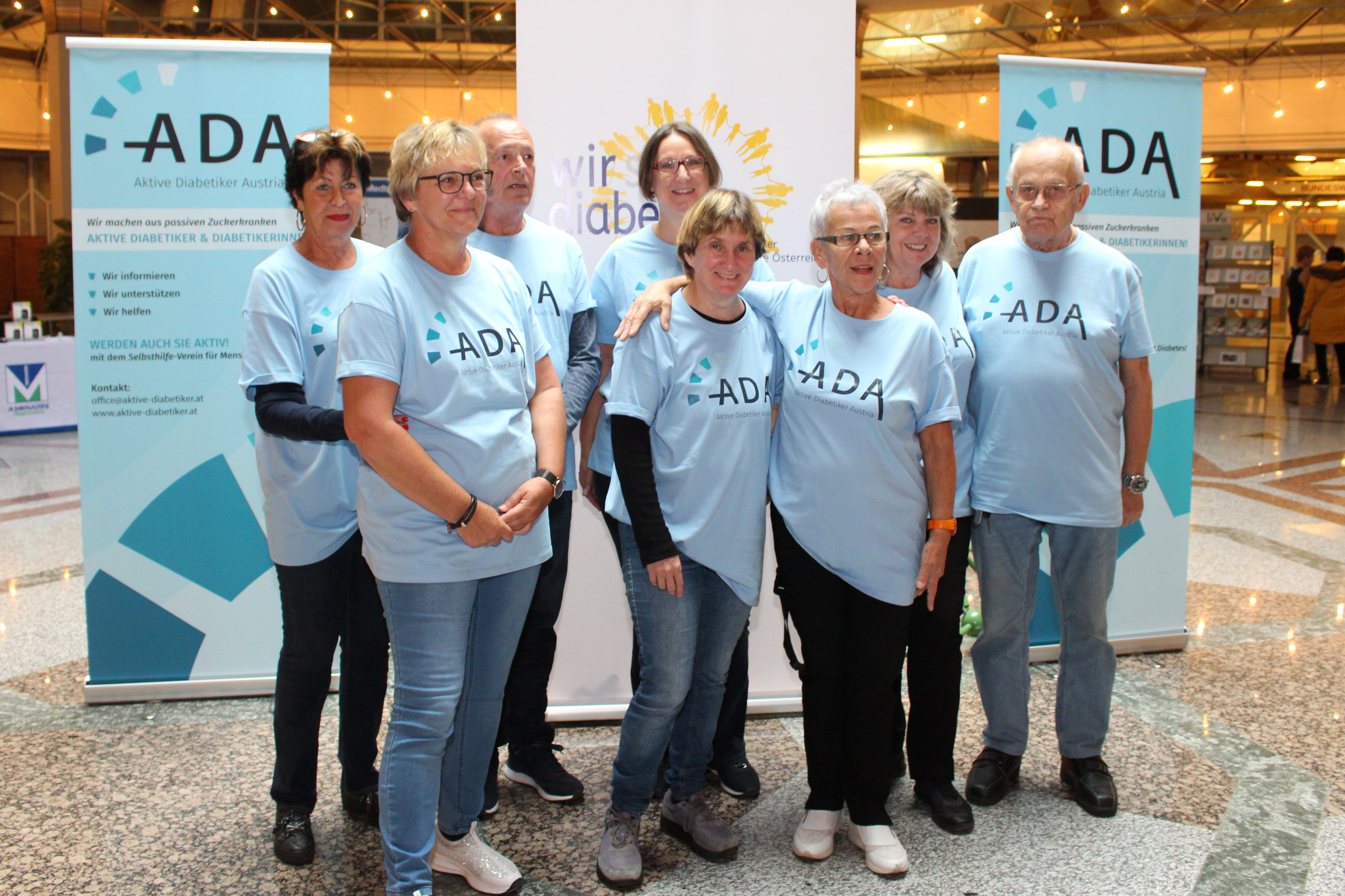 Unser Team am Diabetestag